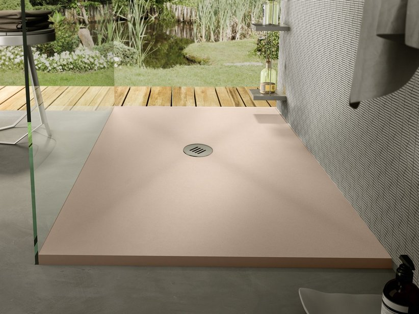 SAHARA SHOWER TRAY 70x90 MARFIL CREAM