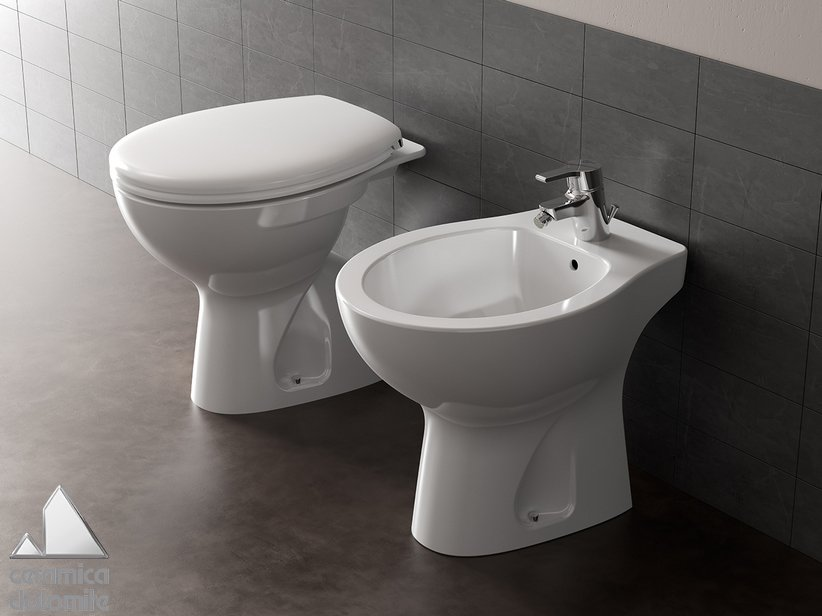 Quarzo Floor-Mount Sanitary Ware