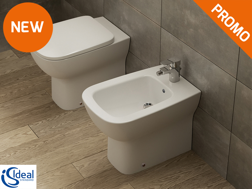 Esedra Back-to-Wall Sanitary Ware