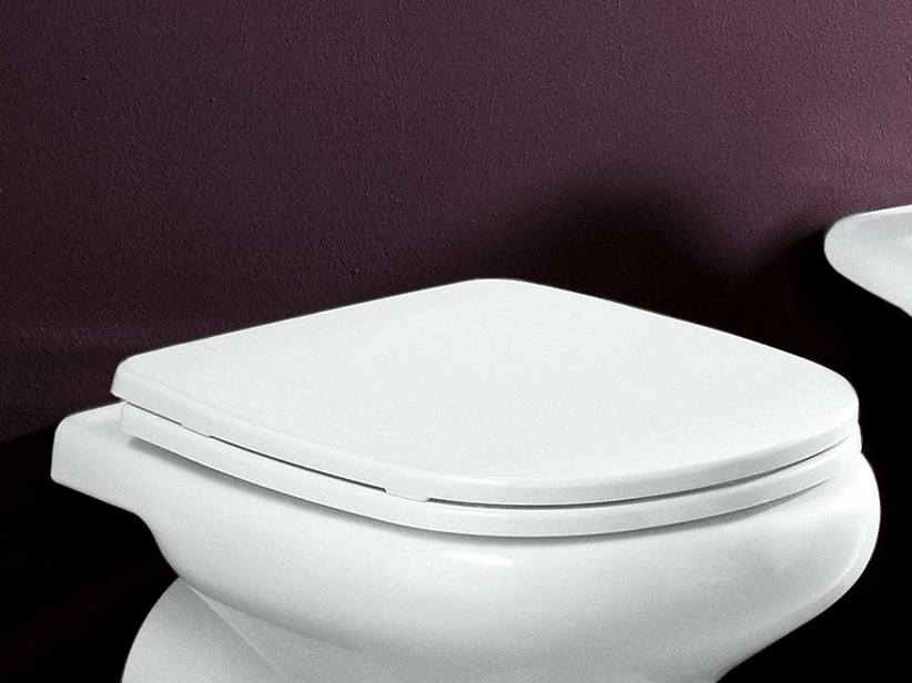 ATENE TOILET SEAT THERMOSET WHITE