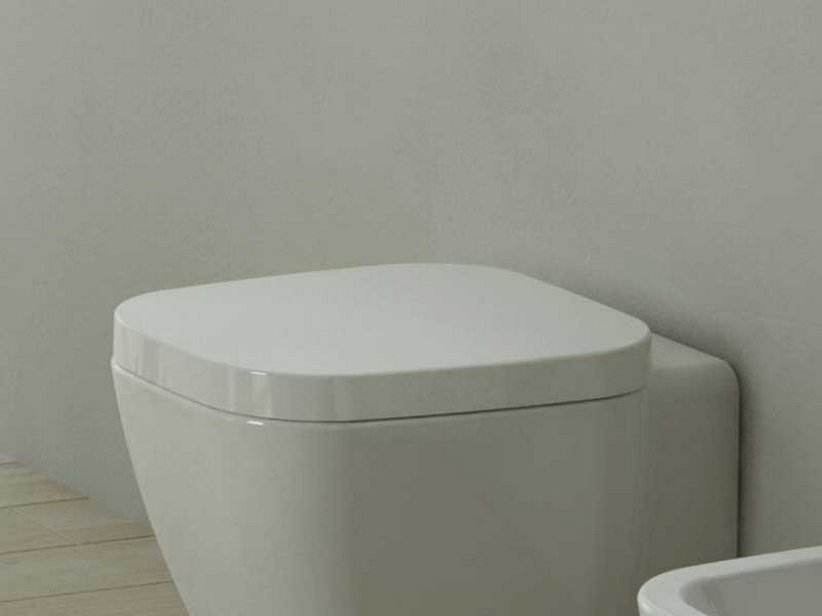OSLO NEW TOILET SEAT THERMOSET WHITE
