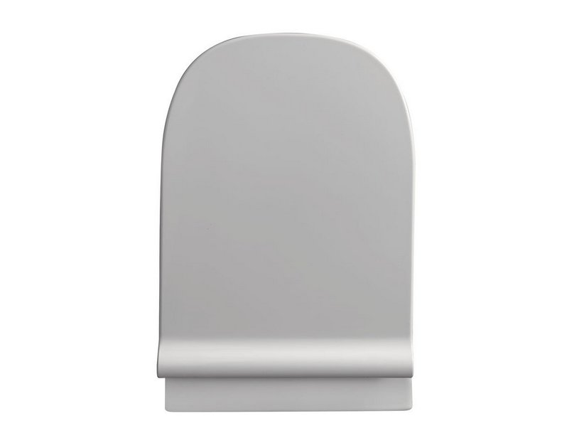 WILD TOILET SEAT THERMOSET SLIM SOFT-CLOSE WHITE