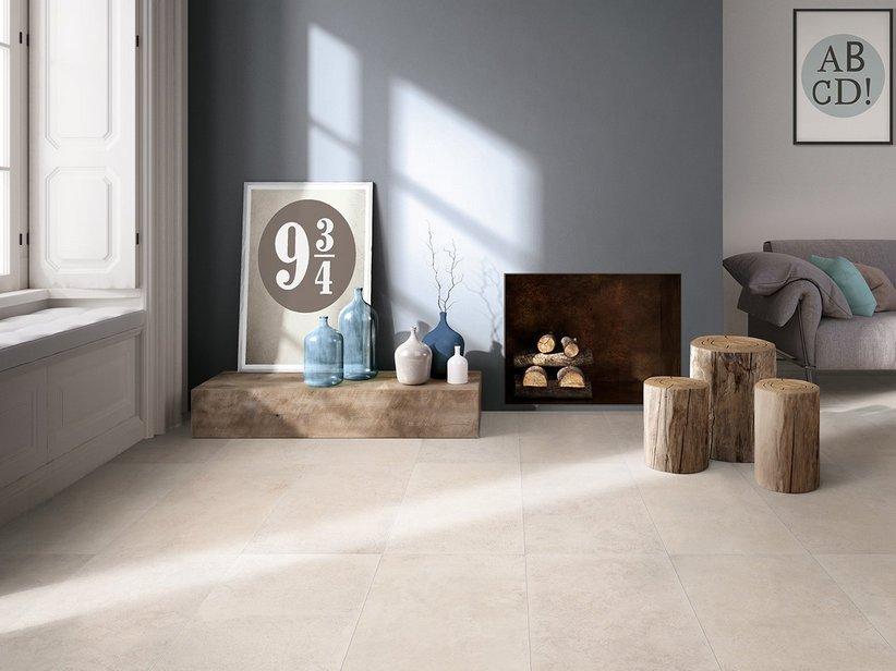 Gres Effetto Pietra Naturale.Piastrella Sinaistone White 40x80 Gres Effetto Pietra Bianco