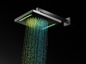 MAGIK LED SQUARE MATT SHOWERHEAD 26x26