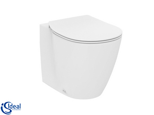CONNECT SPACE BACK-TO-WALL PAN WITH TOILET SEAT