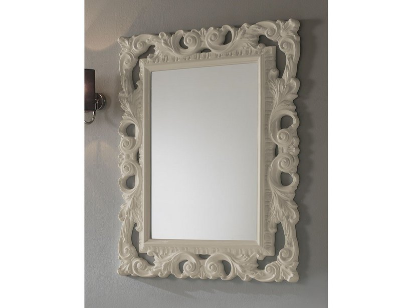 BAROQUE MIRROR 94X75 SAND
