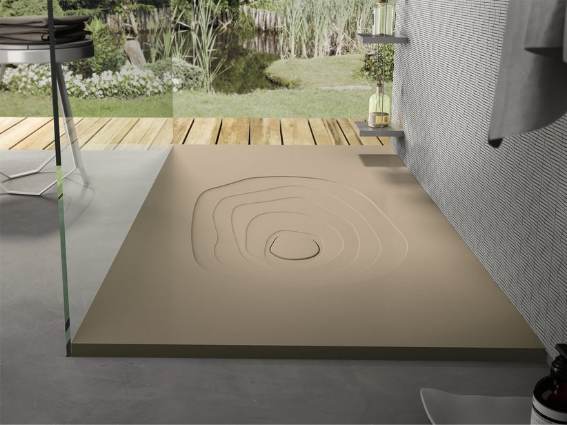 SPLASH SHOWER TRAY 80x120 MARFIL CREAM