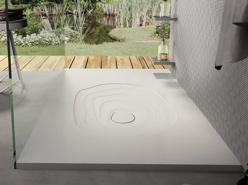SPLASH SHOWER TRAY 90x150 WHITE