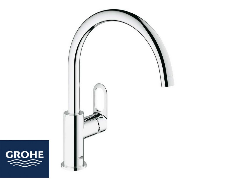 GROHE START LOOP KITCHEN TAP ARC SPOUT CHROME
