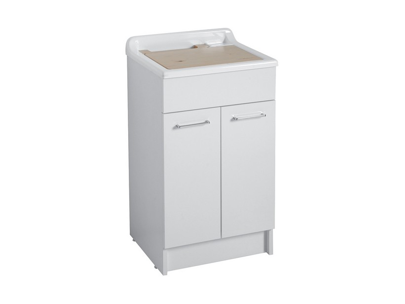 SWASH LAUNDRY SINK 50X45 GLOSSY WHITE