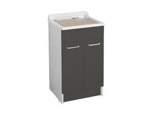 SWASH LAUNDRY SINK 50X50 GREY ANTHRACITE