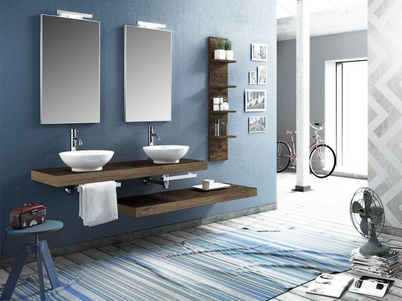 Mobile bagno topsy top cm finitura effetto legno sherwood