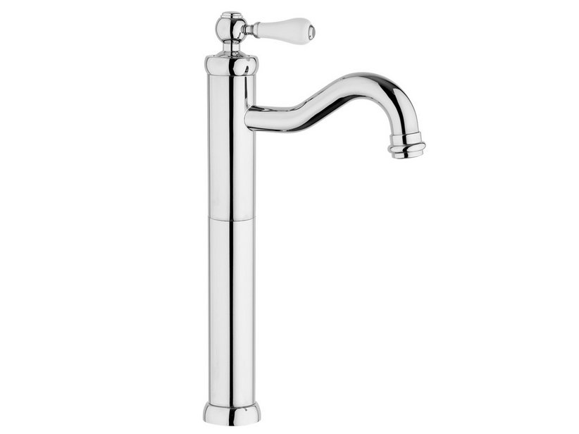 TOSCANA TALL MIXER BASIN TAP WITH DRAIN 1 1/4