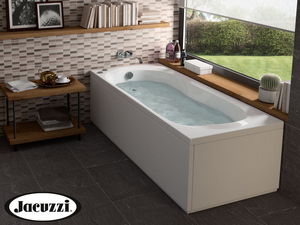 JACUZZI® BROOKLYN WHIRLPOOL BATH 180X80 LEFT WITH FRONT+SIDE PANELS
