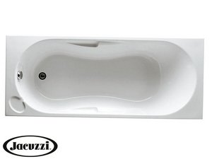 PROJECTA by JACUZZI® AIRA BATH WITHOUT FEET cm. 150X70 ACRYLIC WHITE