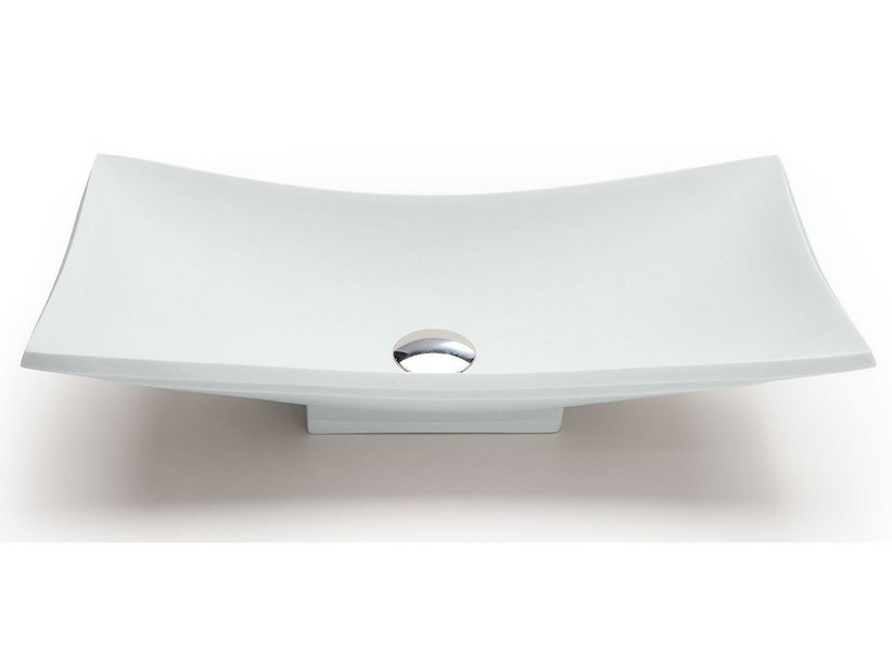 VELA DECORATIVE WASHBASIN CARRARA RESIN