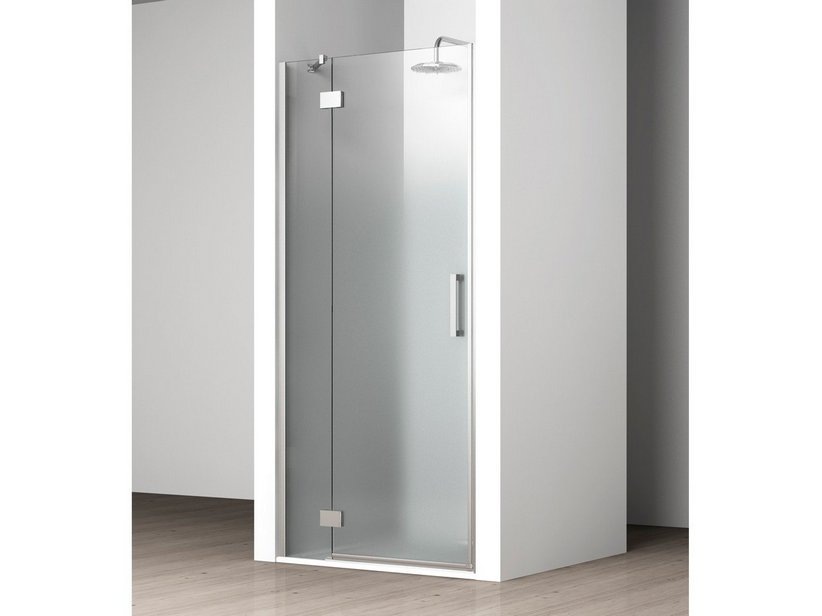 VELA NICHE DOOR LEFT 85/87,5 SATIN