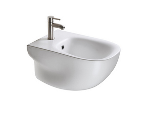 WILD WALL-HUNG BIDET WHITE MATT