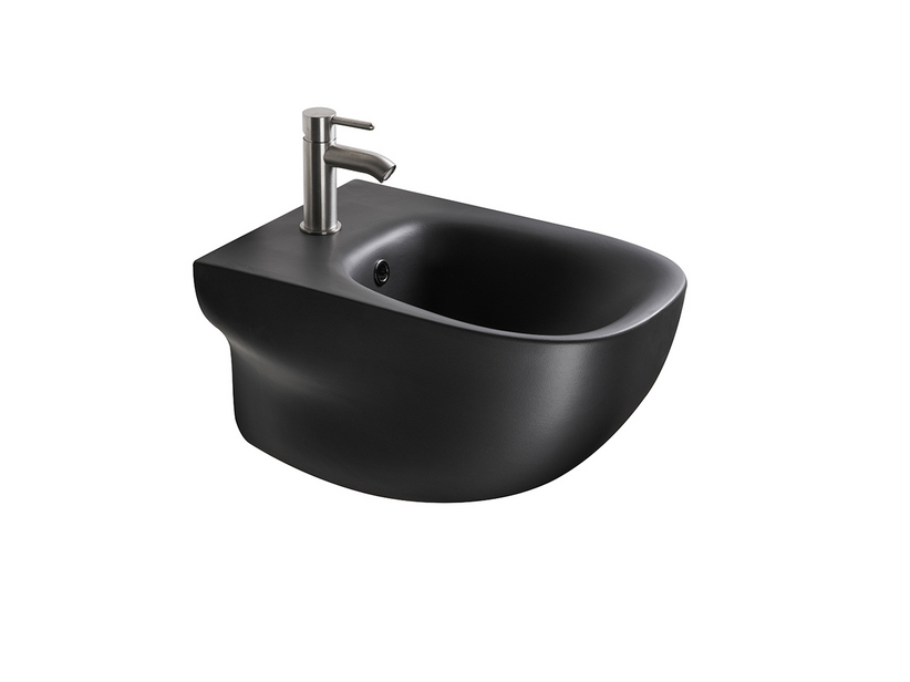 WILD WALL-HUNG BIDET BLACK MATT