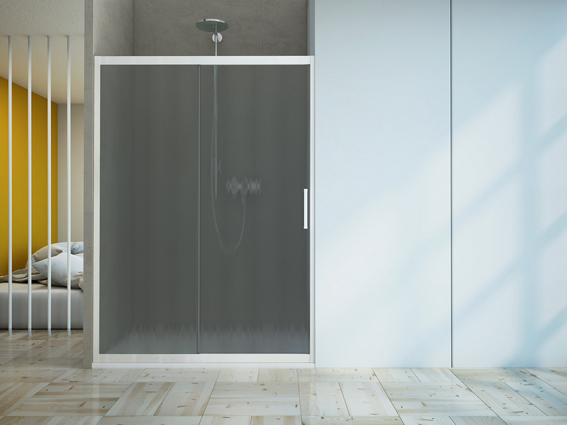 ZEN 1 DOOR 100-90 CINCILLA'/GLOSSY WHITE