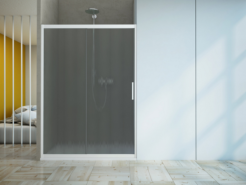 ZEN 1 DOOR 110-100 CINCILLA'/WHITE MATT