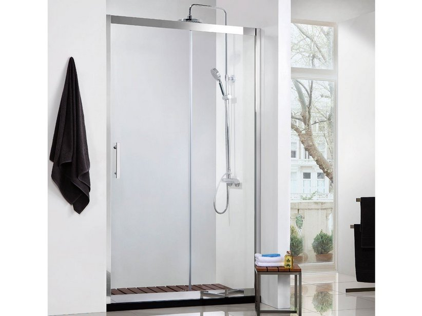ZEUS INOX DOOR 1A 116/117,5 8mm