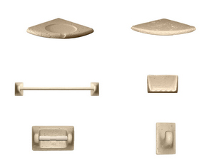 Accessori Bagno In Travertino.Accessori Bagno Travertino Iperceramica