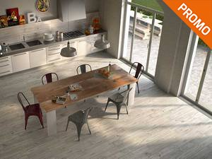 Porcelain Kitchen Wall Tile - Timber