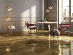 Wood Effect Lappato Porcelain Tile - Clipper