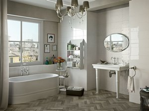 Glossy Double-Fired Wall Tile - Chic
