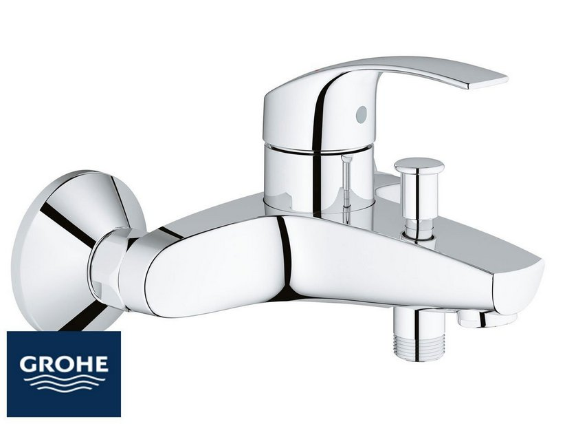 Eurosmart new miscelatore vasca esterno senza doccia for Doccia iperceramica