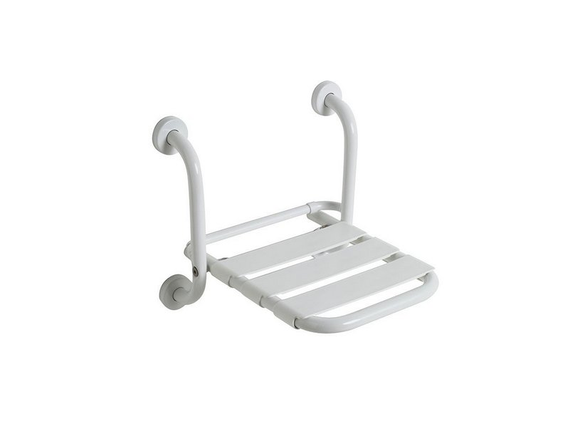 Sicura sedile doccia ribaltabile bianco iperceramica for Doccia iperceramica